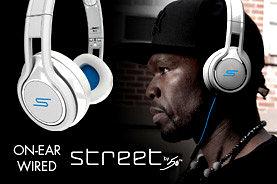 開學季 SMS audio STREET by 50 On-Ear Wired Headphone街頭之王 5角創造 耳罩頭戴式 線控耳機 麥克風 通用免持