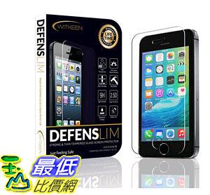 [105美國直購] 螢幕保護膜 iPhone SE Screen Protector  Shatter Resistant Tempered Glass Shield B01DA77IRW