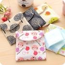 ►韓版可愛大容量衛生巾包旅行便攜 收納包布藝衛生棉袋【B9036】