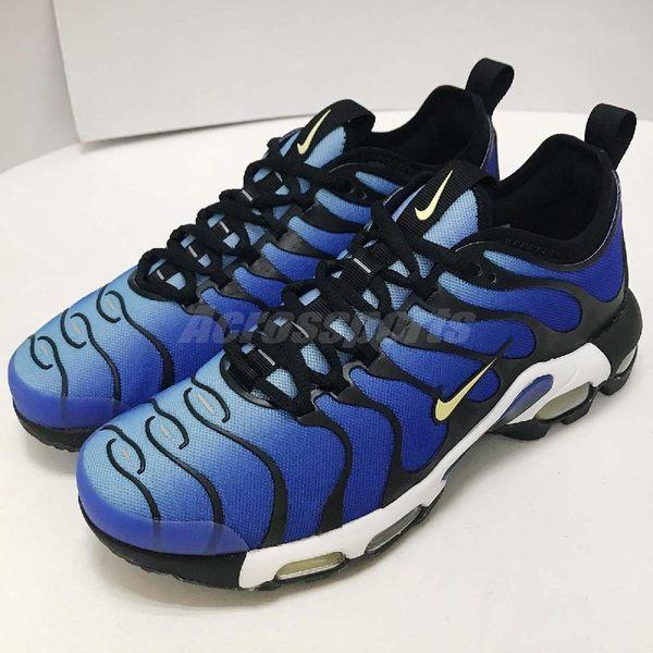 【NG出清】Nike 慢跑鞋 Wmns Air Max Plus Tn Ultra 藍 黑 大小腳 兩腳長度不一 氣墊 運動鞋 女鞋【PUMP306】