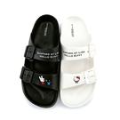 童鞋城堡-麗莎與卡斯柏 x Kitty 簡約質感超輕量拖鞋 女款 GK1323- 白 / 黑(共二色)