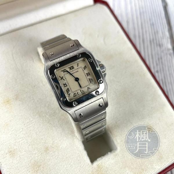 BRAND楓月 Cartier 卡地亞 W20024D6/1565 SANTOS 女錶 手錶 VINTAGE QZ