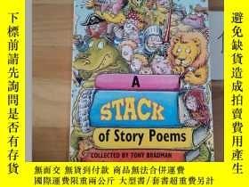 二手書博民逛書店A罕見STACK OF STORY POEMSY246207