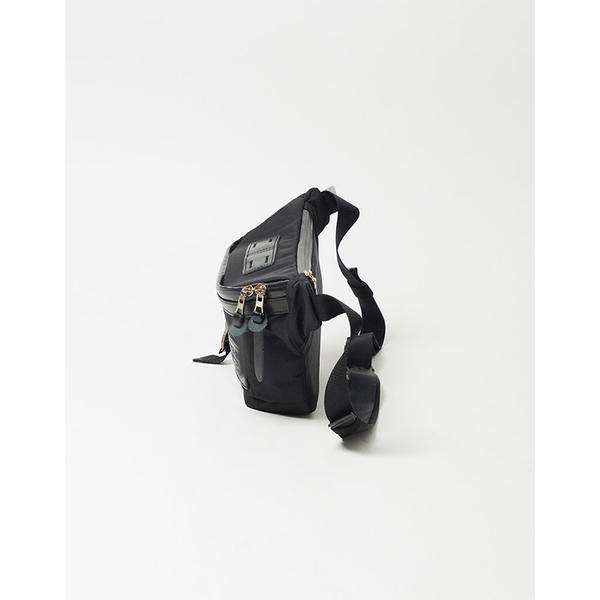 MSPC(master-piece) POTENTIAL-v2 No.01754v2-BK [高機能素材拼接斜肩包-黑色]