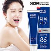 韓國 Median 86%強效淨白去垢牙膏(120g)【小三美日】