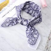 日本集彩苑 - Asuka 飛鳥絲巾/圍巾/方巾/頭巾(海軍藍)《日本設計製造》《全館免運費》