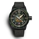飛虎隊限量機械腕錶-墨綠...