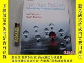 二手書博民逛書店The罕見Audit Process: Principles, Practice and Cases 原版16開奇