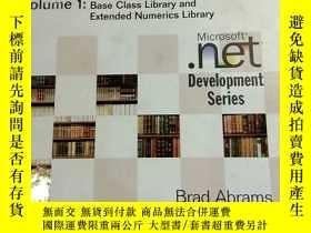 二手書博民逛書店【英文原版硬精裝有光盤】.NET罕見Framework Standard Library Annotated Re