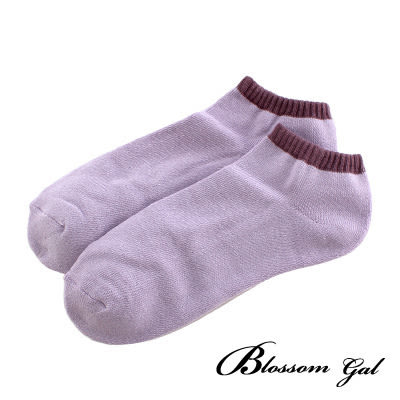 Blossom Gal蛋糕雙色氣墊船型襪(共15色)
