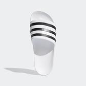 ADIDAS ADILETTE AQUA [G28719] 女鞋 運動 涼鞋 拖鞋 休閒 舒適 輕量 穿搭 愛迪達 白黑