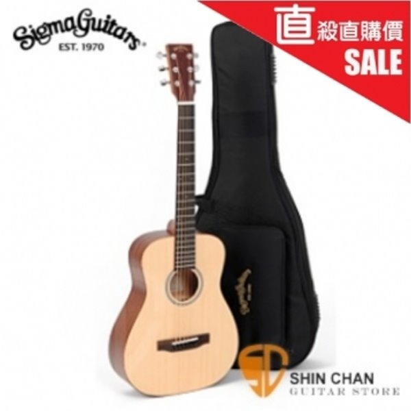 Sigma木吉他 TM-12 小吉他/旅行吉他 34吋(TM12雲杉面單/附 Sigma吉他袋