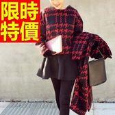 風衣大衣 長版-高檔羊毛秋冬韓風女毛呢外套62v39[巴黎精品]