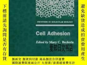 二手書博民逛書店【罕見】Cell Adhesion 2002年出版Y175576
