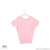 限定回饋【INI】優雅質感、專櫃細膩色紗針織上衣.粉色