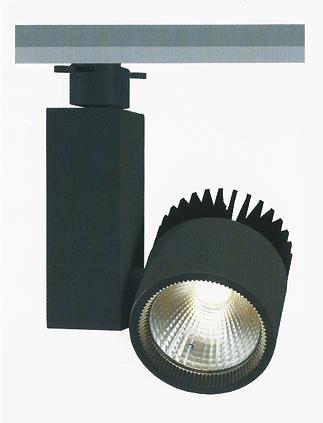 【燈王的店】LED 30W Ra90 黑鑽石軌道燈 黑色款 全電壓 LED-TR30FL-BK