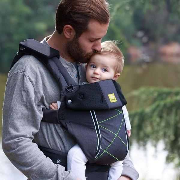 美國 Lillebaby Pursuit 系列-機能包覆四季款背巾|背帶 時尚灰