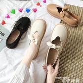 娃娃鞋小皮鞋女韓版百搭夏天新款平底網紅可愛軟底娃娃鞋單鞋潮 交換禮物