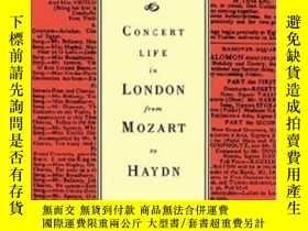 二手書博民逛書店Concert罕見Life In London From Mozart To HaydnY255562 Mcv