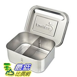 [美國直購] LunchBots Deep Duo Stainless Steel Food Container 高品質(18/8)不鏽鋼午餐盒