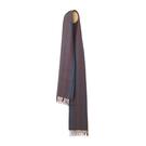 Elvang Bergen Alpaca Wool Scarves 30x160cm 100% 北歐卑爾根系列 條紋 超輕量 羊駝毛 圍巾(藍紅品味)
