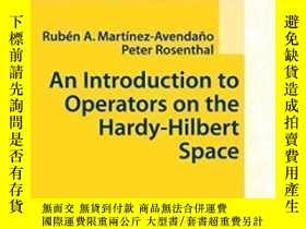 二手書博民逛書店An罕見Introduction To Operators On The Hardy-hilbert Space-