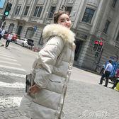 羽絨棉服加厚外套女冬天bf面包服棉襖冬季中長款棉衣 港仔會社