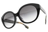 BURBERRY太陽眼鏡 B4304D 37738G (黑-漸層藍鏡片) 奢華時尚造型膠框款 # 金橘眼鏡