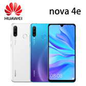 華為 HUAWEI nova 4e 6.15吋 6G/128G-藍/白[24期0利率]