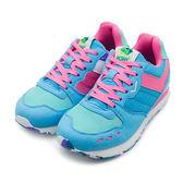 LIKA夢 PONY 繽紛韓風復古慢跑鞋 YORK Campus系列 藍綠粉 53W1YK61BL 女 6折好康