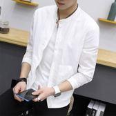 防曬衣男青年韓版修身外套新款夏季速干薄款休閒夾克男防曬服 9號潮人館