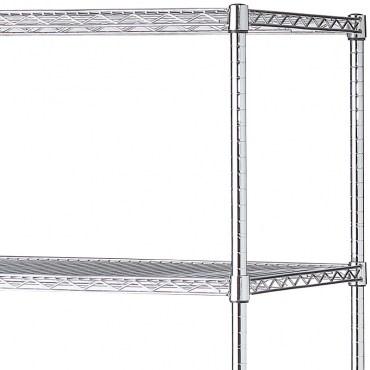 特力屋 鍍鉻重型五層架 152X60X180公分 每層承重200kg