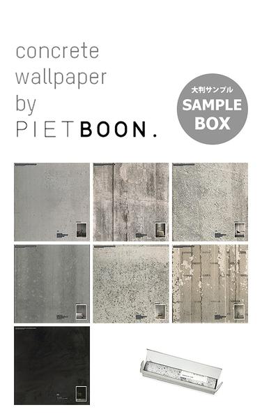 【進口牆紙】CONCRETE WALLPAPER BY PIET BOON【樣本套盒 】荷蘭 混凝土紋 仿真(fake) 工業風