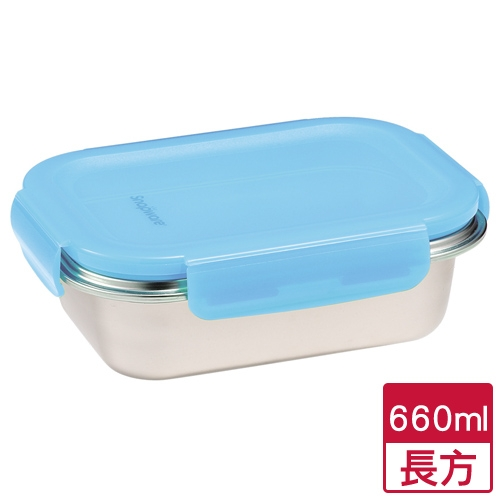 康寧 領新鮮316不鏽鋼保鮮盒(660ml)【愛買】