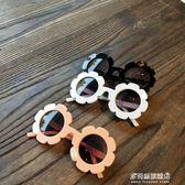 太陽鏡-韓國ins兒童墨鏡太陽花眼鏡可愛寶寶防紫外線太陽鏡男女兒童眼鏡 多麗絲旗艦店
