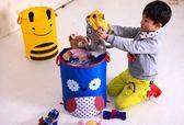 可折疊多功能玩具雜物收納筒(顏色隨機)