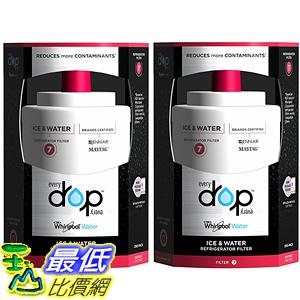 [美國直購] Everydrop by Whirlpool Refrigerator Water Filter 7 EDR7D2 (Pack of 2)