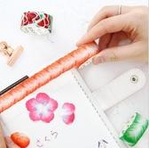 花瓣和紙膠帶diy 小清新自粘可撕貼畫創意日本拼貼手賬貼紙  花間公主
