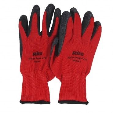 Rite舒適型止滑耐磨手套(紅-S)台灣製