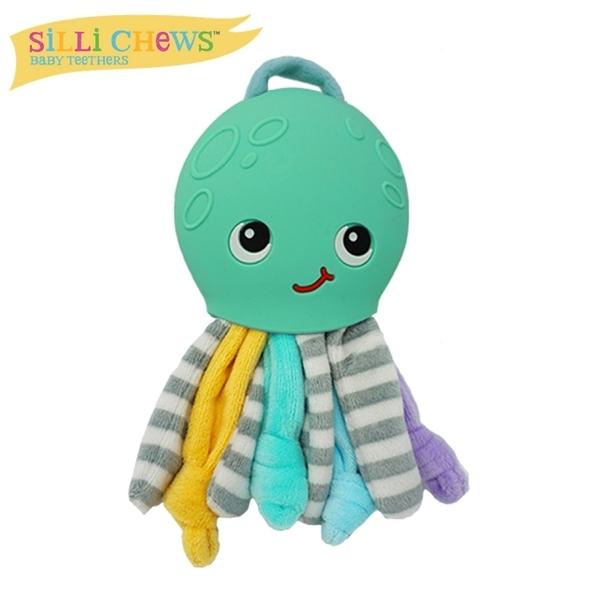 silli chews 章魚咬牙毛絨玩具【六甲媽咪】