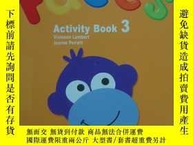 二手書博民逛書店Faces罕見3 Activity BookY13390 Lam