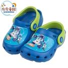 《布布童鞋》POLI救援小英雄波力出動囉藍色兒童布希鞋(15~18公分) [ B1C606B ]