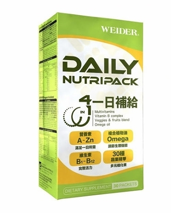 [COSCO代購] C217617 WEIDER 威德 一日補給 30包