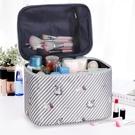 化妝包 化妝包女便攜大容量旅行防水隨身少女心化妝品收納盒袋箱 快速出貨