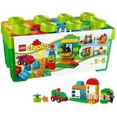 積木得寶系列10572多合一趣味桶積木玩具xw