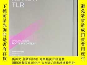 二手書博民逛書店The罕見linguistic review tlr 2019年 vo. 36 英文版Y42402