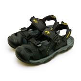 LIKA夢 LOTTO 專業護趾戶外運動涼鞋 水陸悍將系列 黑灰 0180 男