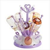 奶瓶乾燥架 嬰兒奶瓶架干燥架瀝水架子 奶瓶晾干架收納防塵 珍妮寶貝
