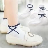 兒童襪子短襪春夏季純棉薄款網眼女童襪3-5-7-9-12歲男孩純色全棉