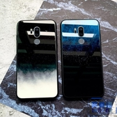 LGG7手機殼玻璃矽膠lg g7保護套全包鏡面防摔簡約【英賽德3C數碼館】